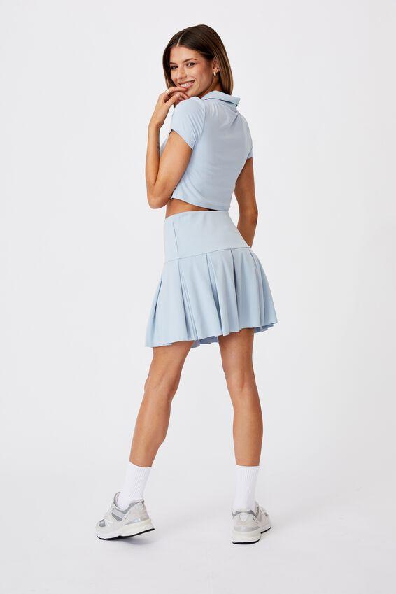 Tennis Skirt, SKYWAY BLUE