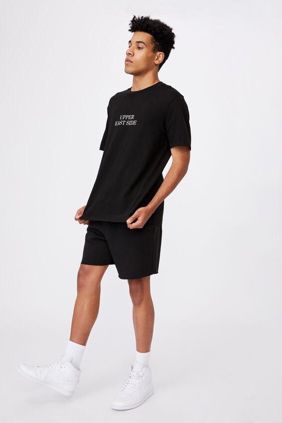 Regular Graphic T Shirt, BLACK/UPPER EAST SIDE
