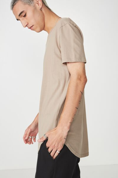 Curved T Shirt, MOONROCK