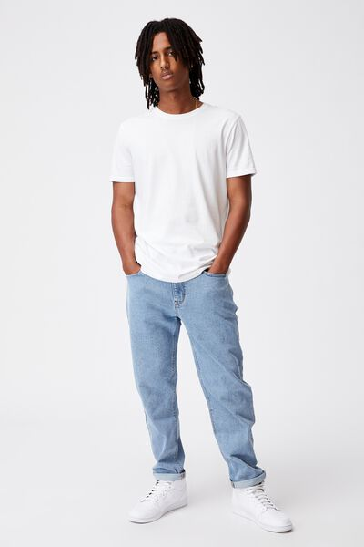 Relaxed Fit Jean, 90S BLUE