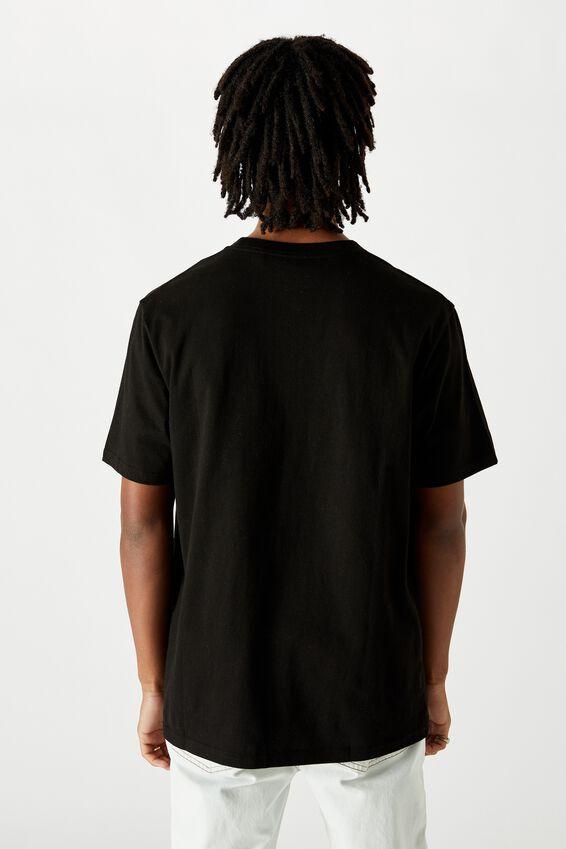 Regular T Shirt, BLACK