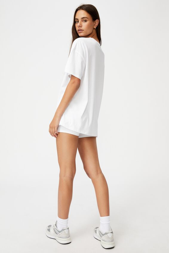Super Relaxed Graphic Tee, WHITE/FINAL FOUR