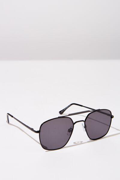 Vintage Topbar Sunglasses, MATT BLK_TINT