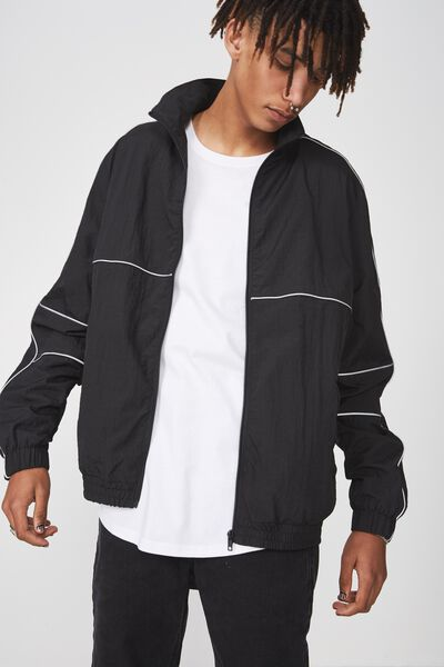 Shell Jacket, BLACK/REFLECTIVE
