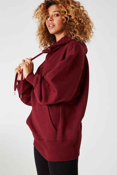 Orlando Oversized Hoodie, WINDSOR WINE