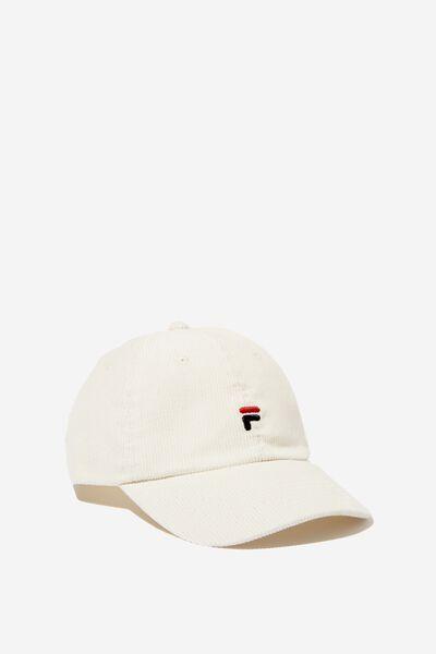 Fila Lcn Cord Cap, WHITE CORD