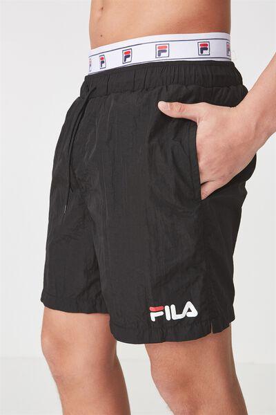 Fila Waist Band Short, BLACK