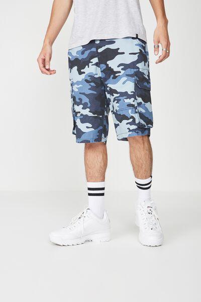 Cargo Shorts, BLUES CAMO