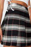 Pleated Skirt, TIANA CREAM CHECK