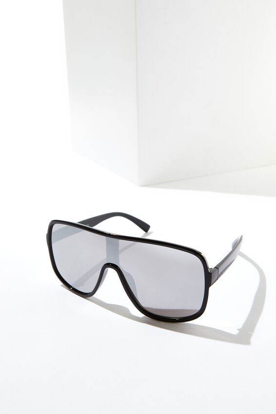 Shield Sunglasses, BLACK__MIRROR