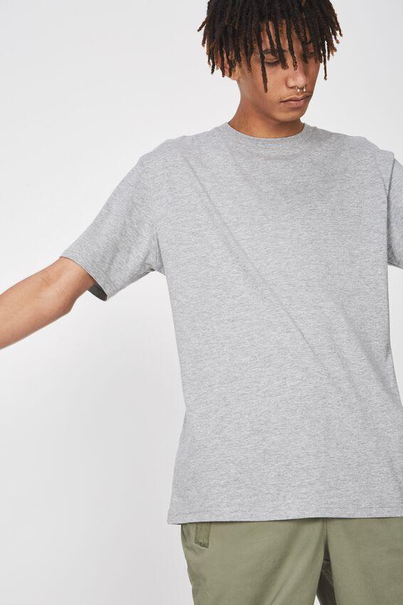 Classic T Shirt., TRUE GREY MARLE