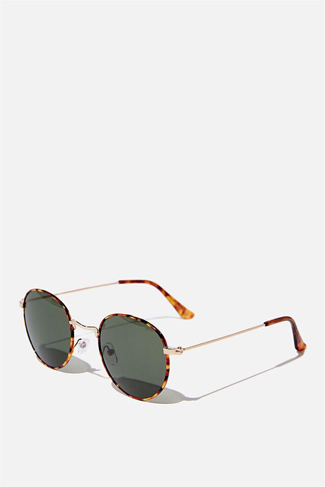 Splendour Round Sunglasses, TORT