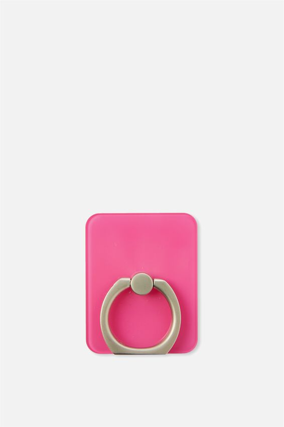 Ring Grip, TRANSPARENT PINK