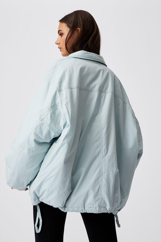 Oversized Padded Jacket, ETHER