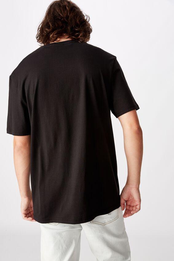 Regular License T Shirt, BLACK/SNOOP DOG