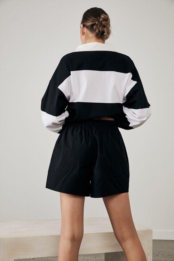 Woven Short, BLACK_KINDNESS CLUB