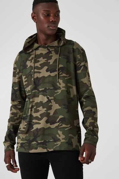 Long Sleeve Hoodlum, CAMO