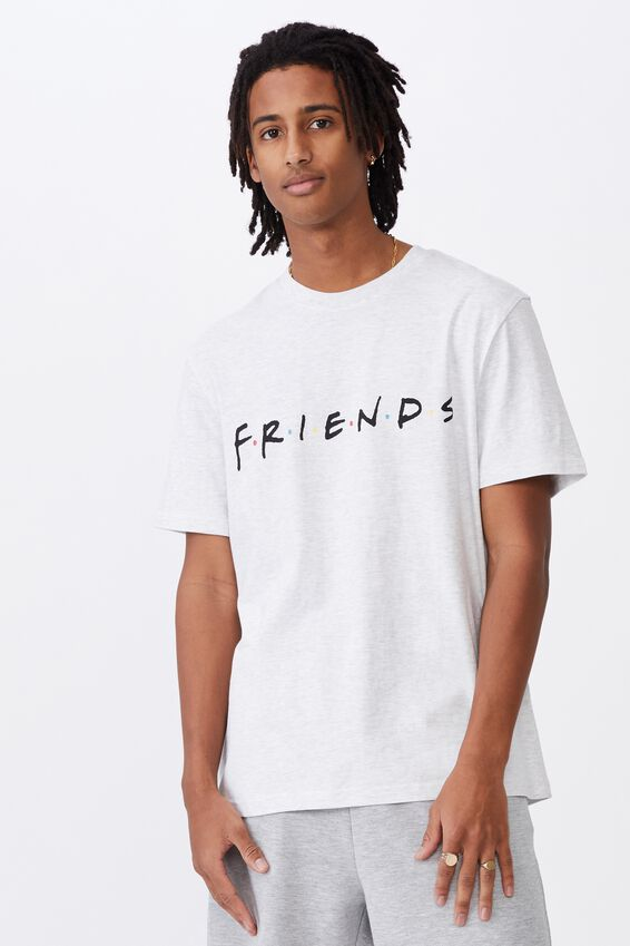Regular License T Shirt, LCN WB SILVER MARLE/FRIENDS