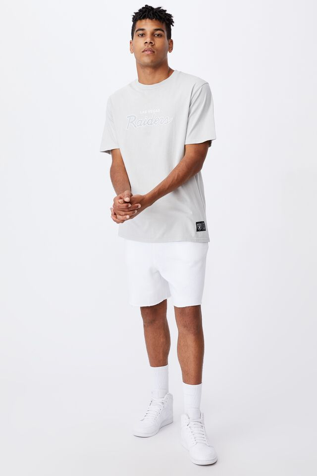 Regular Nfl T Shirt, LCN NFL MICROCHIP GREY/RAIDERS LA