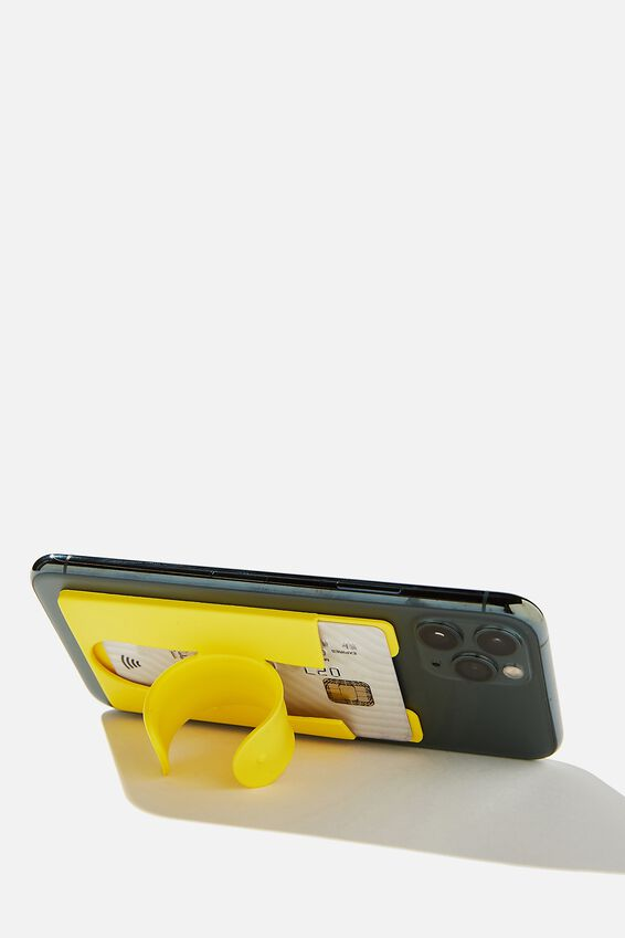Flip Stand Phone Cover, YELLOW
