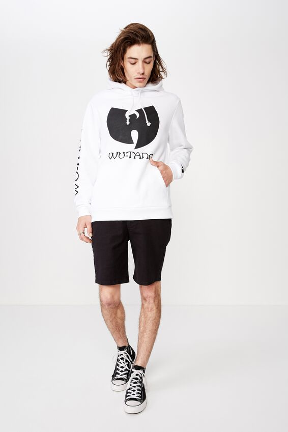 License Graphic Hoodie, WHITE/WU-TANG