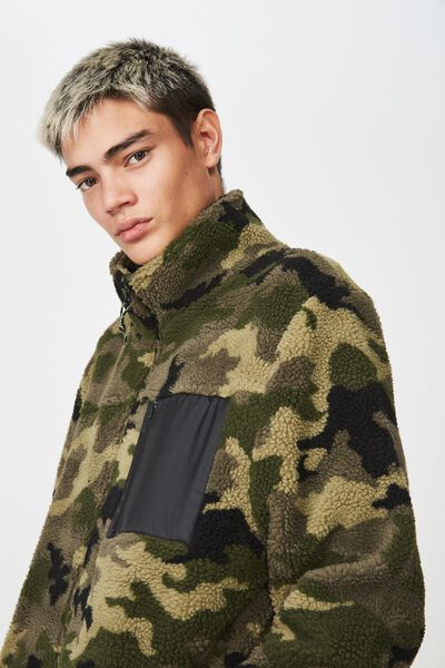 Teddy Jacket, CAMO