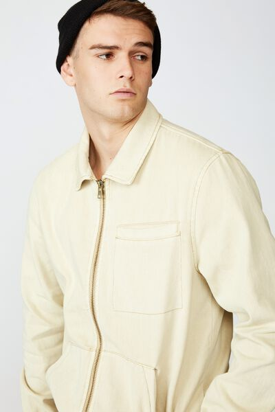 Harrington Jacket, ECRU