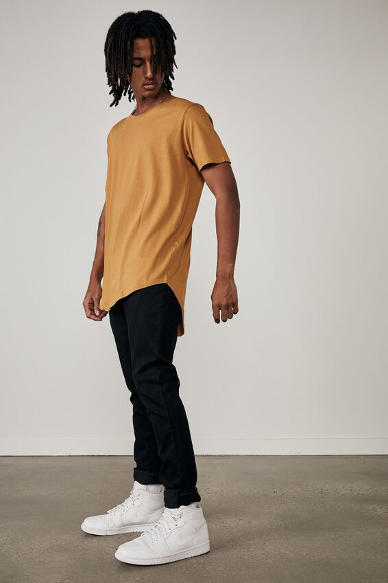 Curved T Shirt, DESERT