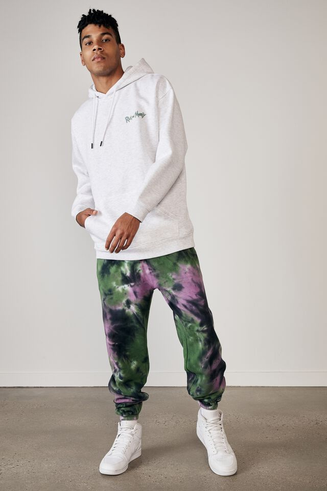 Relaxed Tie Dye Trackpant, NORTHERN LIGHTS TIE DYE