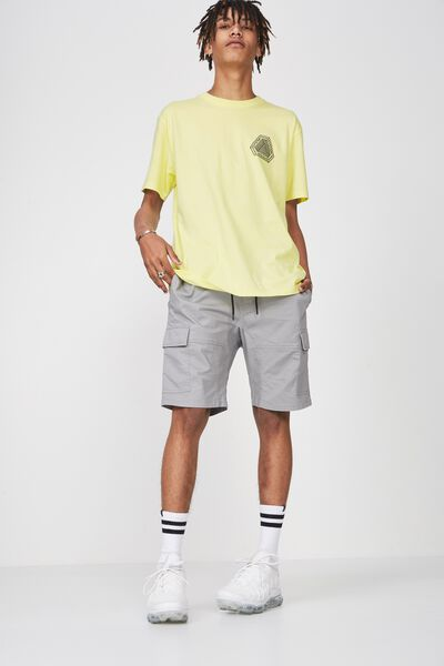 Graphic T Shirt, SUNNY LIME/ERROR PUZZLE