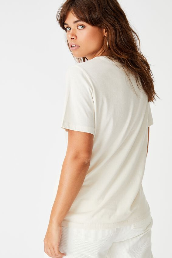 Relaxed Graphic T Shirt, WASHED IVORY/LIGHTING RIDGE