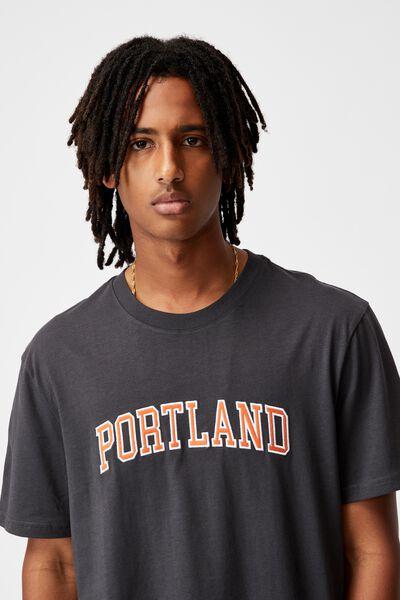 Regular Graphic T Shirt, SLATE/PORTLAND