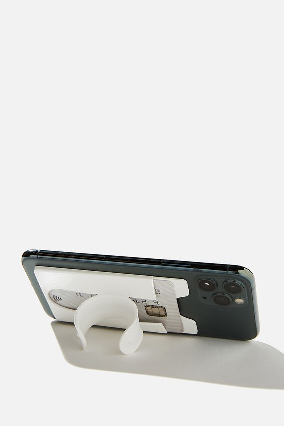 Flip Stand Phone Cover, WHITE