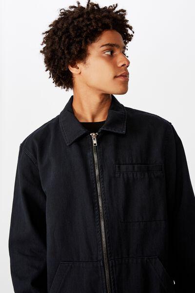 Harrington Jacket, ALMOST BLACK
