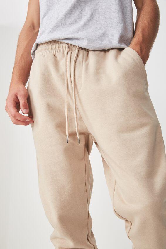 Basic Track Pant, OXFORD TAN