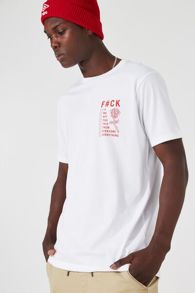Tagged Tee, WHITE/TAKE YOUR PICK