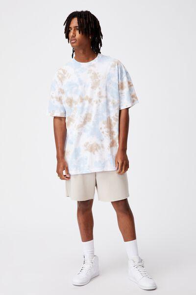 Relaxed Tie Dye T Shirt, SAND SKY TIE DYE