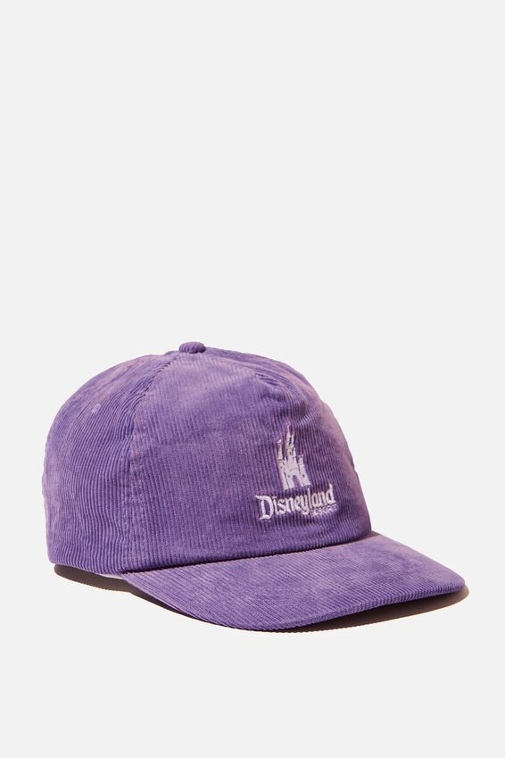 License Cord Service Cap, LCN DIS PURPLE/DISNEYLAND CASTLE