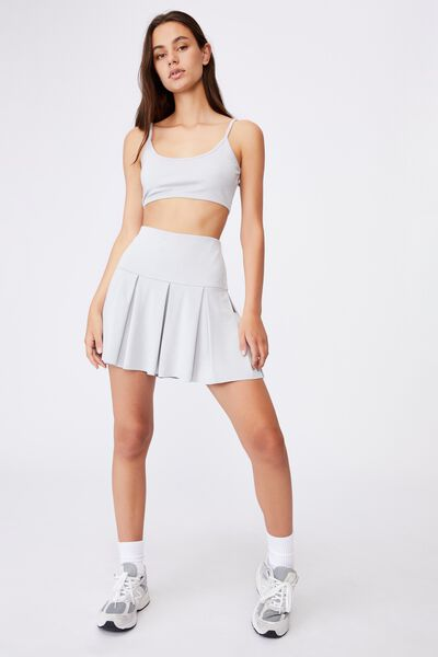 Co-Ord Crop Top, GREY MARLE