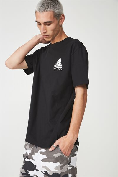 Graphic T Shirt, BLACK/VISIONS SPECTRUM