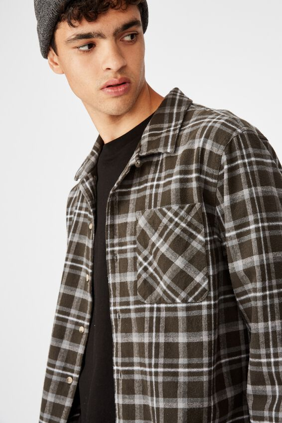 Flanno Shirt, FITZROY CHECK