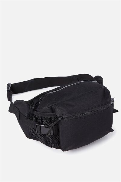 Hiking Crossbody Bag, BLACK