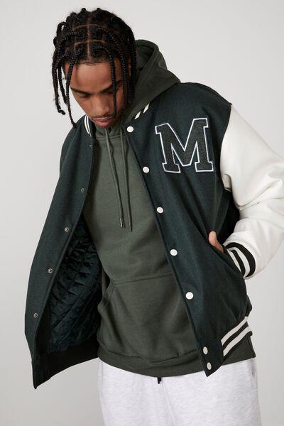 Varsity Jacket, MICHIGAN EVERGREEN