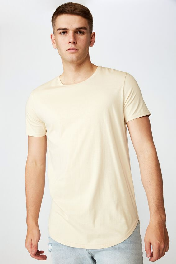 Curved T Shirt, FOG