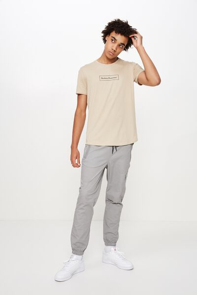 Utility Cuffed Pant, MONUMENT