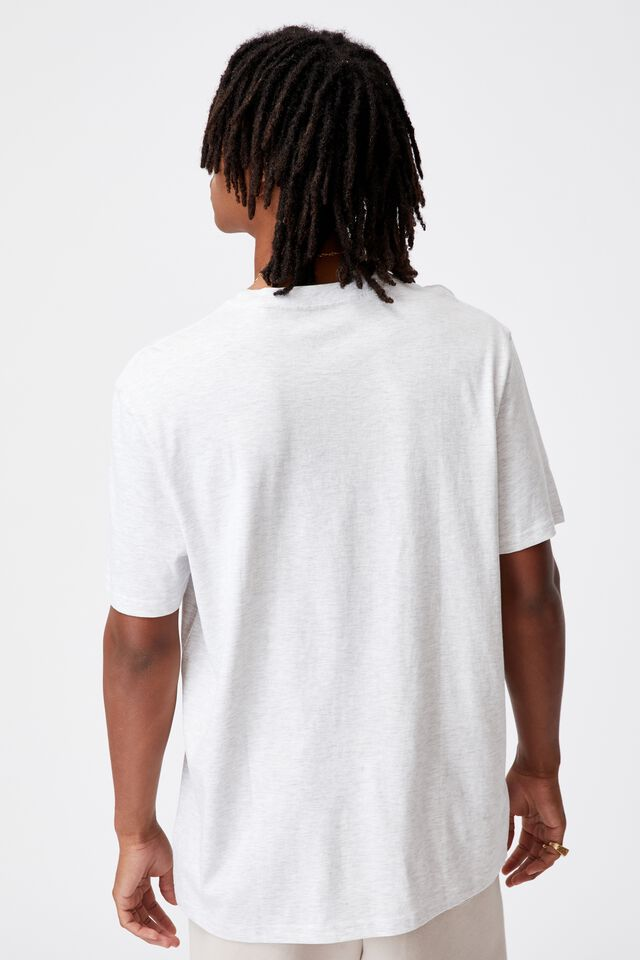 Regular Graphic T Shirt, SILVER MARLE/THIS MOMENT
