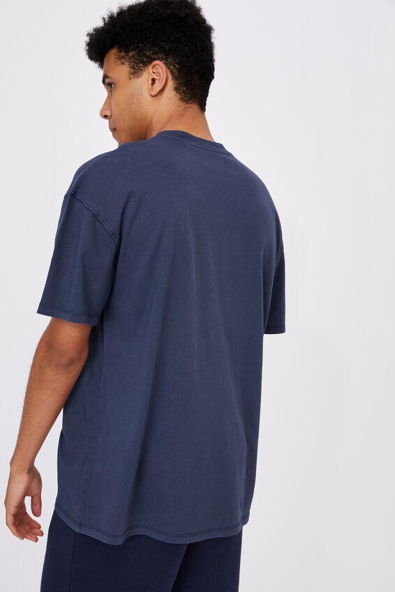 Relaxed Washed T Shirt, WASHED INDIGO/DETROIT
