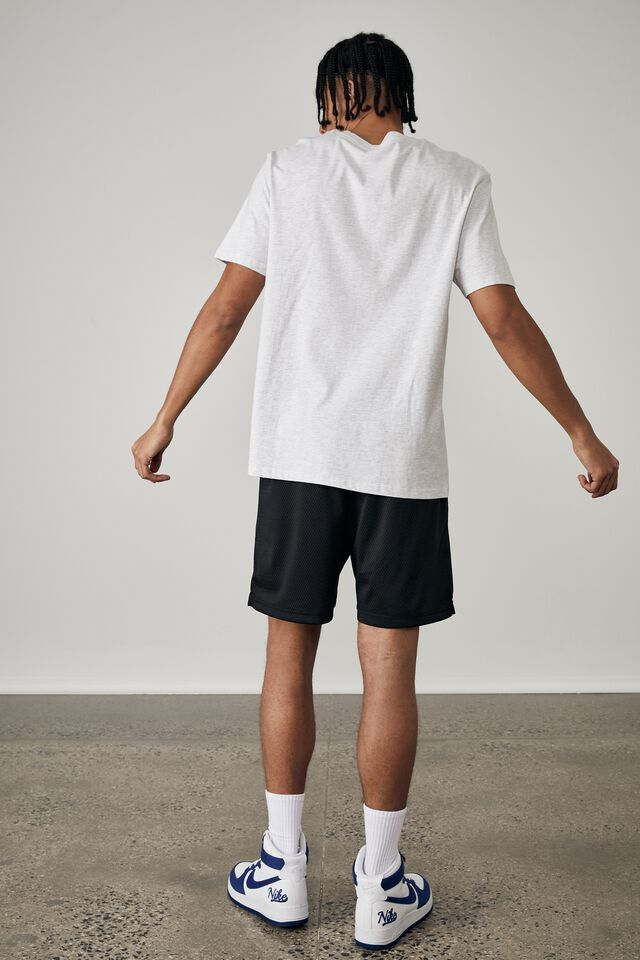Regular Graphic T Shirt, SILVER MARLE/OHIO