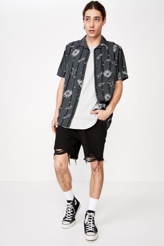 Resort Shirt, JAILBIRD FLORAL