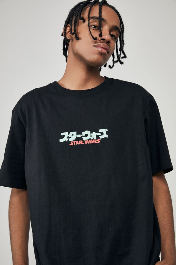 Regular Tv Movie T Shirt, LCN LUC BLACK/RETURN OF THE JEDI